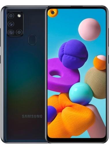Samsung A217 Galaxy A21S Black (Türkiye Garantili) Siyah